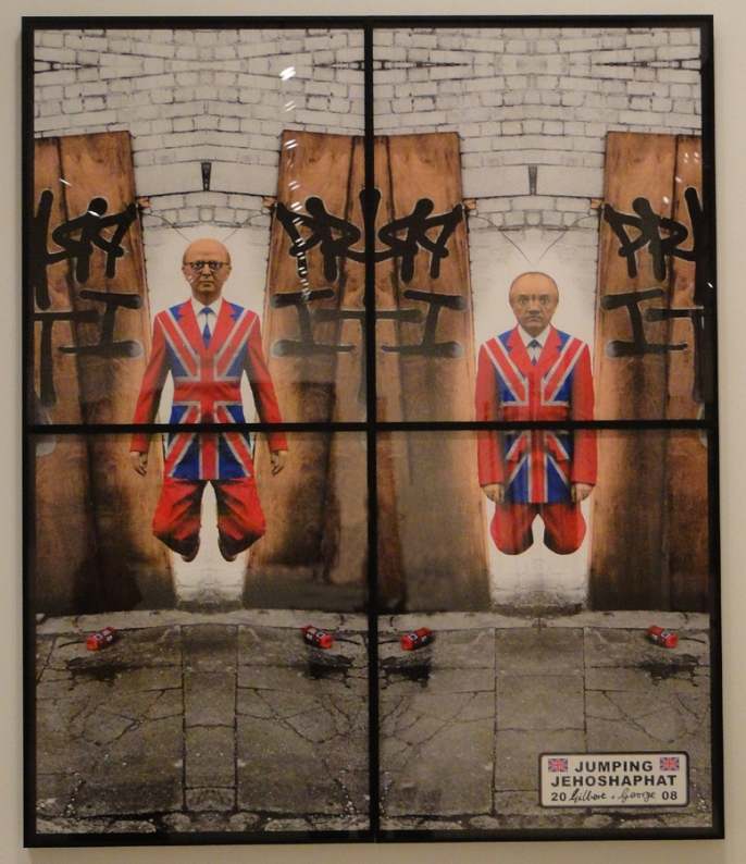 Gilbert and George in CAC, Malaga