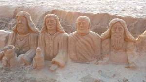 Sandfigures